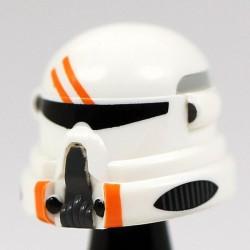 Lego Accessoires Minifig Custom CAC Casque Airborne Orange (La Petite Brique)