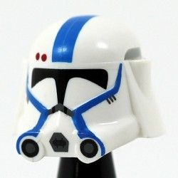 Heavy Blue Assault Helmet