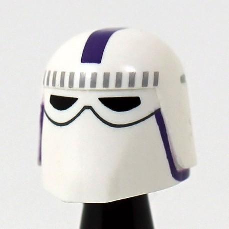 Snow Purple Helmet