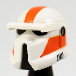 Driver Orange Helmet
