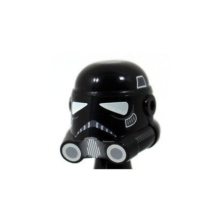 Lego Accessoires Minifig Clone Army Customs - Casque Phase 3 Shadow