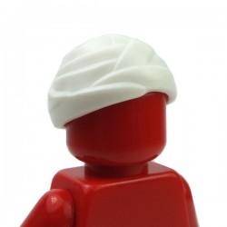 LEGO - White Minifig, Headgear Wrapped Bandage