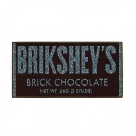 Lego eclipseGRAFX Brickshey's Brick Chocolate Bar Accessoires Custom Minifigure