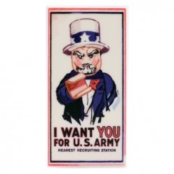 I Want You Poster (Tile 2x4)