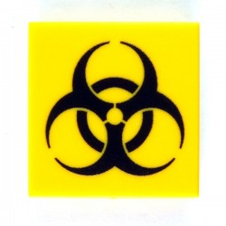 eclipseGRAFX - Sign Biohazard (Tile 2x2)