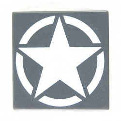 eclipseGRAFX - WWII Star (Tile 2x2 - DBG)