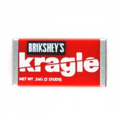 Lego Accessoires minifig custom eclipseGRAFX - Kragle Brick Chocolate Bar