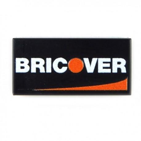 Lego Accessoires minifig custom eclipseGRAFX - Carte de Credit Bricover (Tile 1x2)