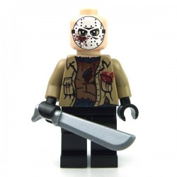 Lego minifigure custom eclipseGRAFX - Minifig Jason Voorhees