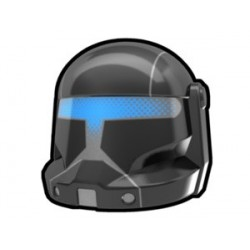 Arealight - Black Commando Omega Helmet v2