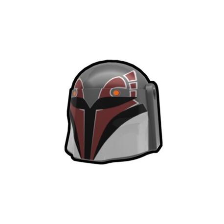 Lego Accessoires Custom Star Wars Arealight - Casque Dark Gray Rebel Hunter