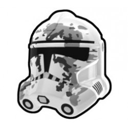 Lego Accessoires Custom Star Wars Arealight - Arealight - Casque White Camo Trooper