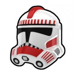 Lego Accessoires Custom Star Wars Arealight - Casque White Thire Trooper