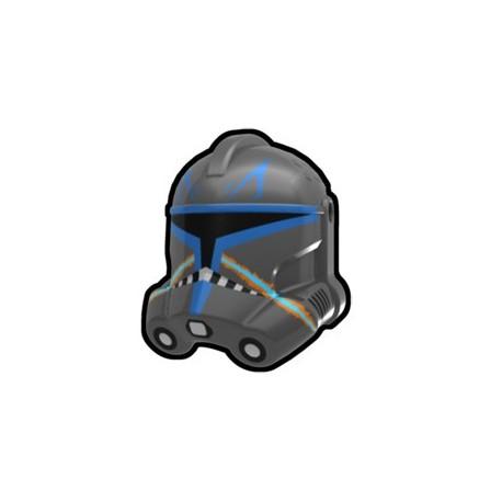 Lego Accessoires Custom Star Wars Arealight - Arealight - Casque Dark Gray Rex Trooper