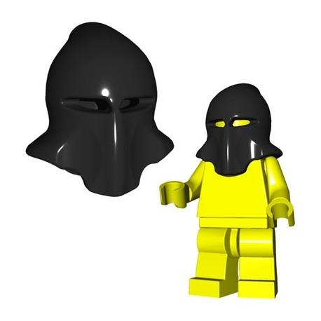 Lego Accessoires Minifig Custom Brick Warriors - Cagoule Bourreau (Noir)