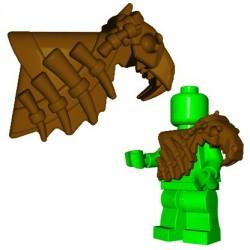 Brick Warriors - Sabertooth Armor (Brown)