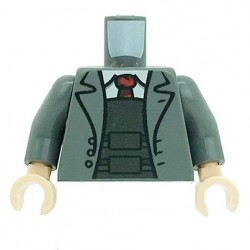 Lego Accessoires Minifig Custom Minifigs'R Us - Torse Costume + Gilet pare balles