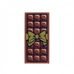 Lego - Tablette Chocolat - Tile 1x2 (Marron)