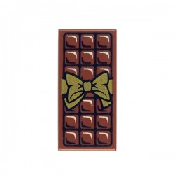 Lego - Reddish Brown Tile 1x2 - Chocolate Bar
