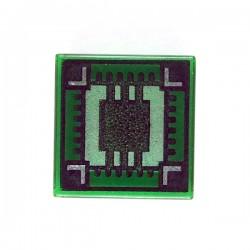 Lego Accessoires Minifig - Ultra Ship - Tile 1x1 (Vert Transparent)