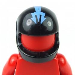 Lego Accessoires Minifig - Casque Trident (Noir)