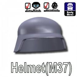 Si-Dan Toys - Helmet M37 (Dark Bluish Gray)