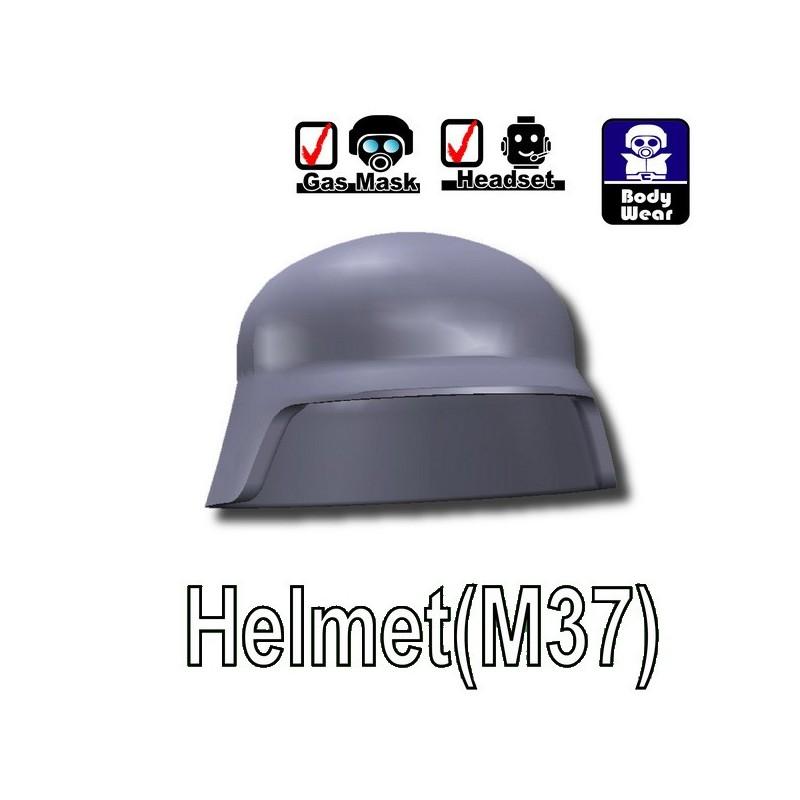 LEGO Dark Bluish Gray Minifigure Helmet Goggles Accessory