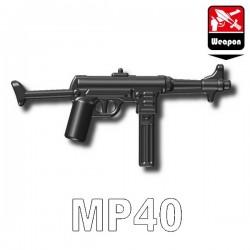 Accessoires Lego Minifigure custom Si-Dan Toys - MP40 (Iron Black)