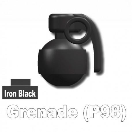 Accessoires Lego Minifigure custom Si-Dan Toys - P98 Grenade (Iron Black)