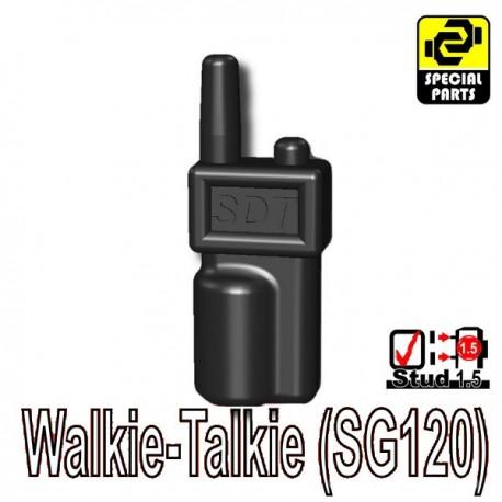 Accessoires Lego Minifigure custom Si-Dan Toys - Talkie-Walkie (SG120) (Noir)