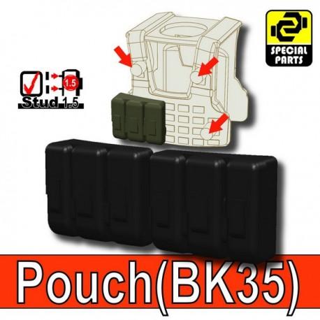 Accessoires Lego Minifigure custom Si-Dan Toys - Pouch BK35 (Noir)