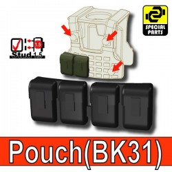 Block Pouch BK31 (Black)