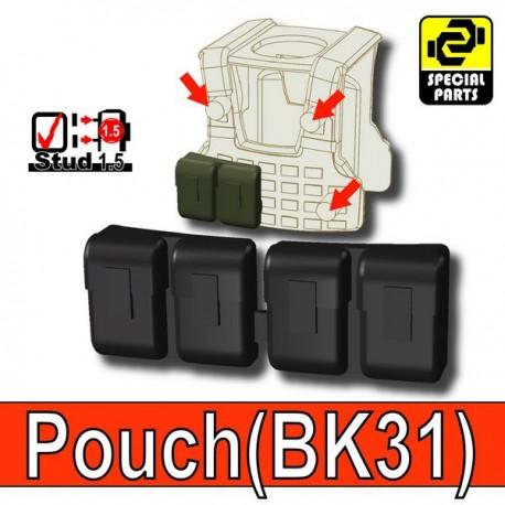 Accessoires Lego Minifigure custom Si-Dan Toys - Block Pouch BK31 (Noir)