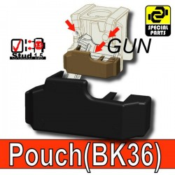 Accessoires Lego Minifigure custom Si-Dan Toys - Block Pouch BK36 (Noir)