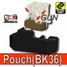 Block Pouch BK36 (Black)