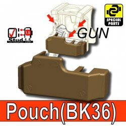 Block Pouch BK36 (Deep Bronze Brown)