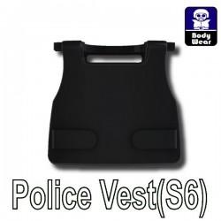Accessoires Lego Minifigure custom Si-Dan Toys - Police Vest S6 (Noir)