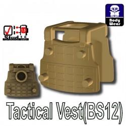 Si-Dan Toys - Police Vest BS12 (Dark Tan)