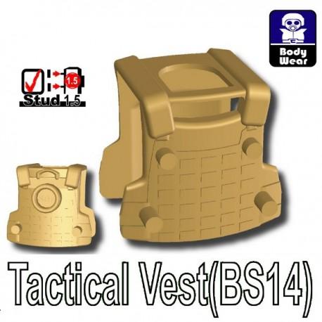 Si-Dan Toys - Tactical Vest BS14 (Dark Tan)