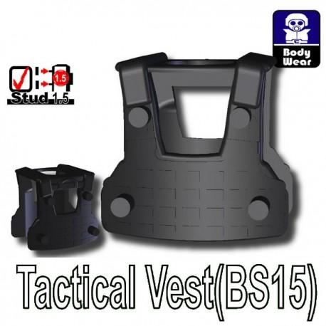 Accessoires Lego Minifigure custom Si-Dan Toys - Tactical Vest BS15 (Noir)