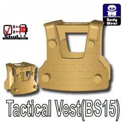 Si-Dan Toys - Tactical Vest BS15 (Dark Tan)