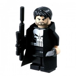 Lego Minifigure Custom eclipseGRAFX - Minifig The Punisher