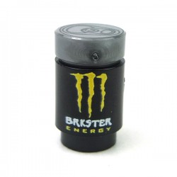 Lego Accessoires Minifigure Custom eclipseGRAFX - Canette Energy Drink - Brkster (Jaune)