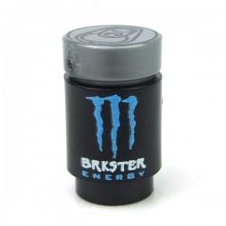 Lego Accessoires Minifigure Custom eclipseGRAFX - Canette Energy Drink - Brkster (Bleu)