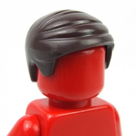 Lego Minifigure - Cheveux sur le coté (Dark Brown)