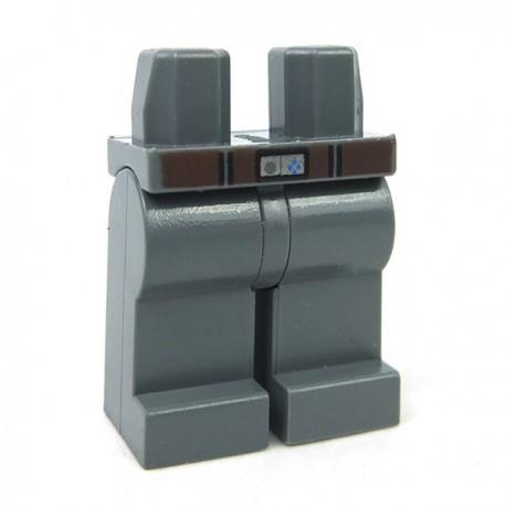 Lego Accessoires Minifig Jambes avec ceinture (DBG)