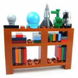 Lego - Library and its accessories