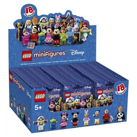 LEGO Series DISNEY - box of 60 minifigures - 71012