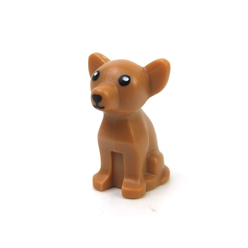 Lego Accessories Animals Medium Dark Flesh Dog Chihuahua