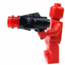 Lego - Black Minifig, Weapon Gun, Blaster Mini with Trigger (SW)